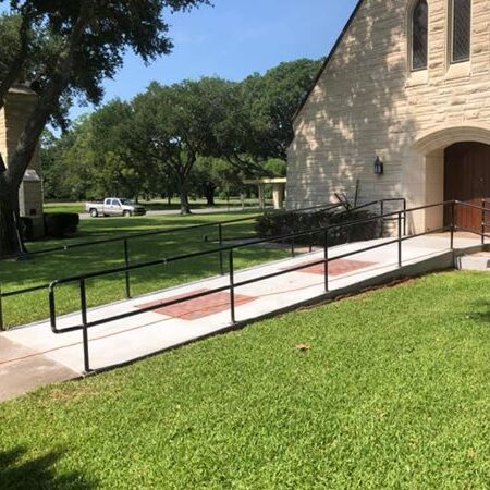 Custom Handrails @ the Methodist Church.