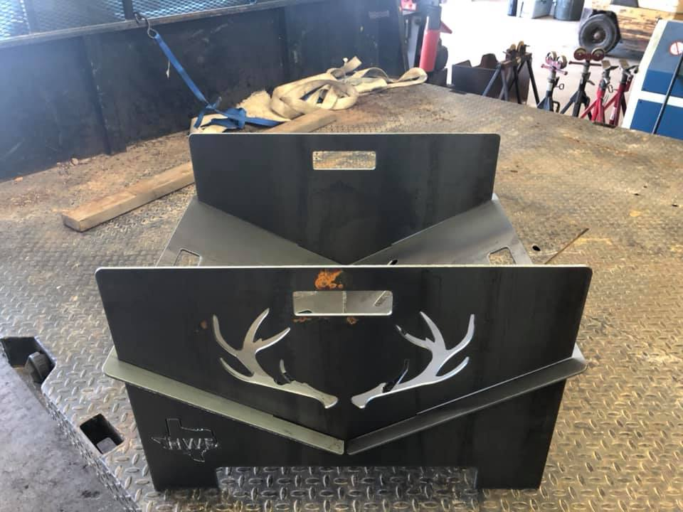 Custom Collapsible Fire Pit